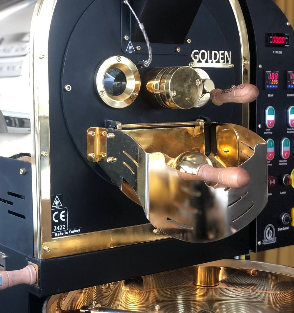 Coffee Roasters - Is your next business move to start roasting? Looking for the knowledge and experience? We can help!We are a official supplier of Golden Coffee Roasters - the same roaster we use for our own coffeeWe include a 3 day training package from our Master Roaster JohnSupport and advice available 24/7Information on buying green beans, buying futures and where to purchase