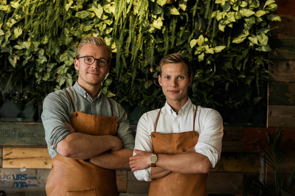 Søren and Anders from Nohrlund