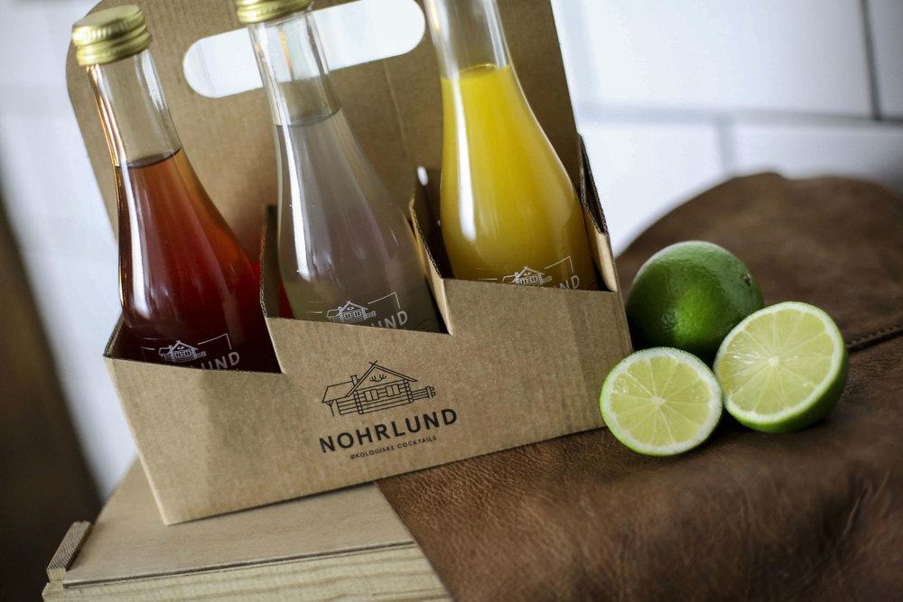 3 bottles of Nohrlund