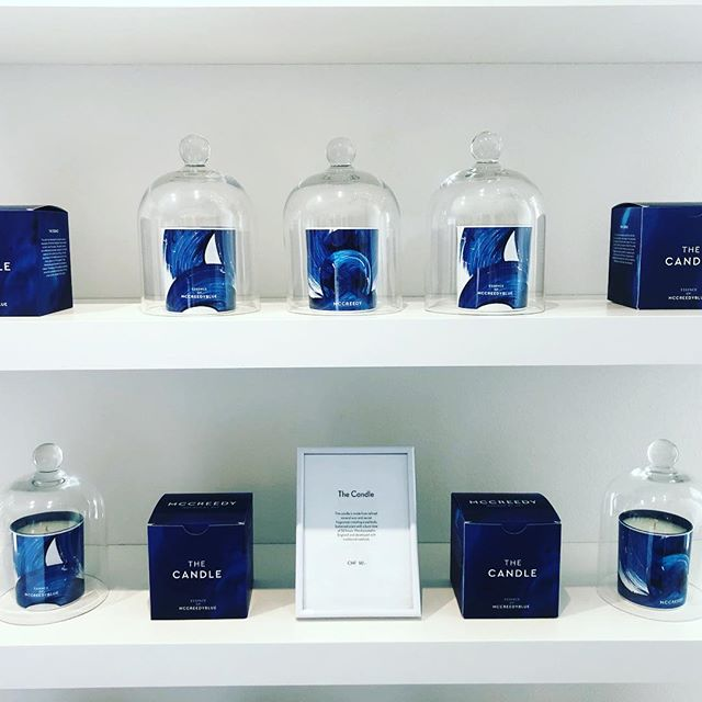 Our most popular products currently are THE CANDLE. Come and smell it . . .  #mccreedyblue #mccreedyworld #thecandle #candle #luxury #lifestyle #art #contemporaryart #home