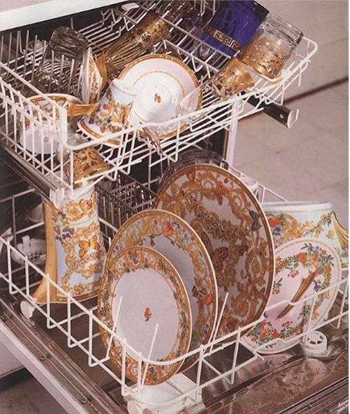 IM doing the dishes this weekend... - again.