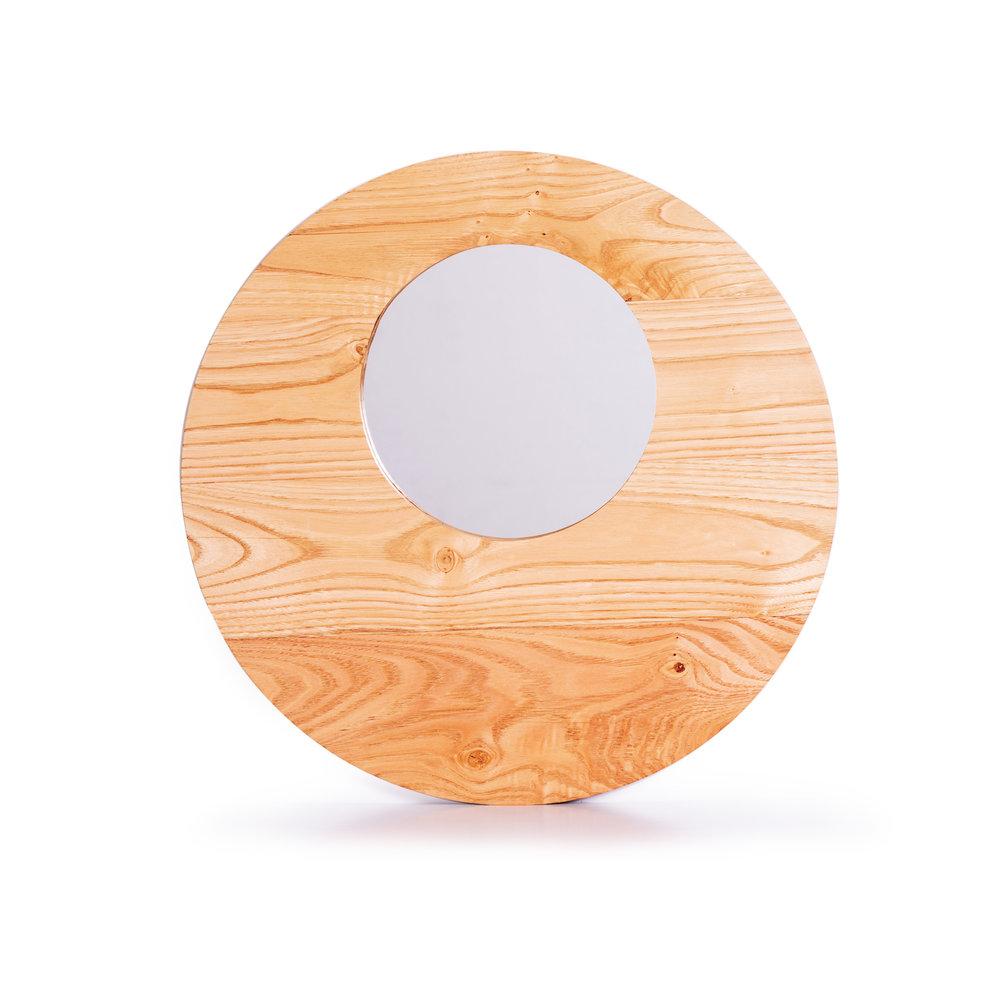 Espejo de castaño natur