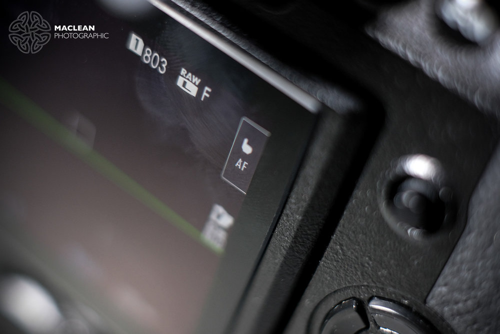 The touchscreen can be turned on or off.