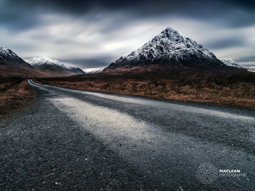 ROAD TO GLEN ETIVE -  CLICK HERE TO SELECT AND PURCHASE THIS IMAGE