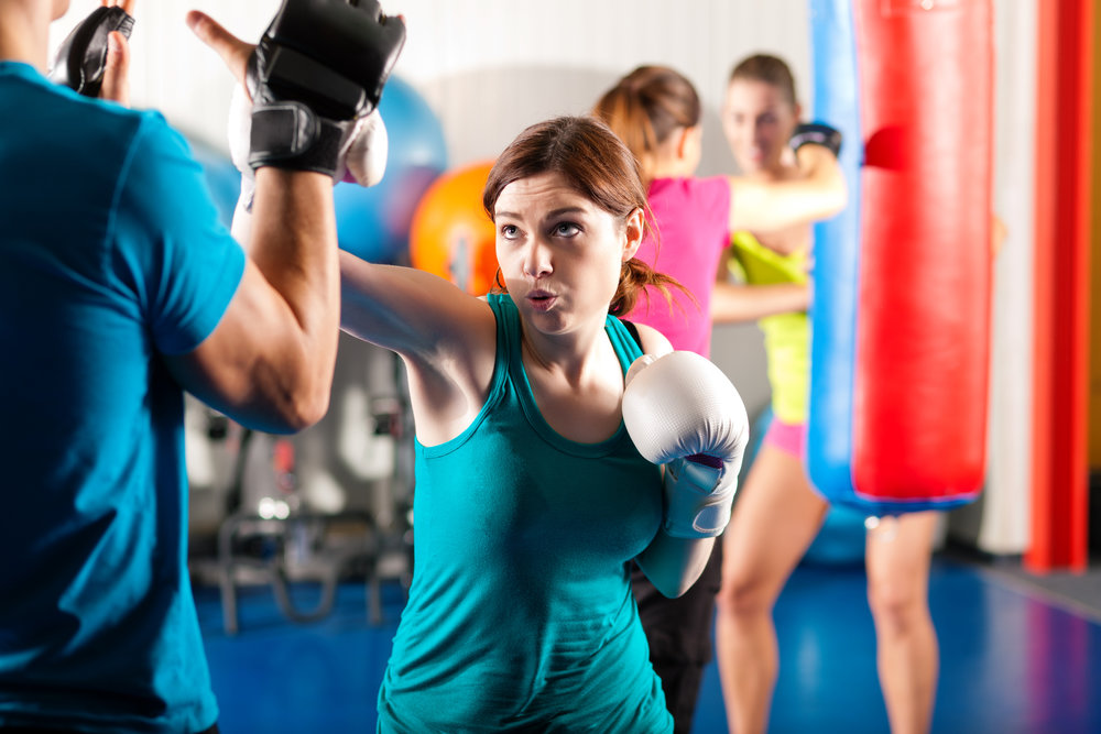 Boxing - Boxing training greatly improves your cardiovascular health while increasing core strength. It also decreases stress and improves hand eye coordination.