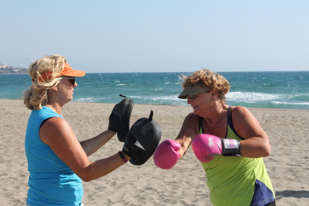 Boot camp for customers with medical conditions - arthritis, scoliosis, asthma