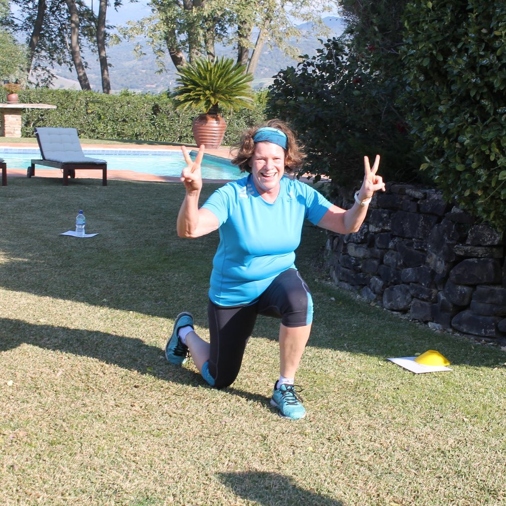 Virginia (@vbstreet) - Virginina lost 6.6kg on our 7-day boot camp in Spain.She says: