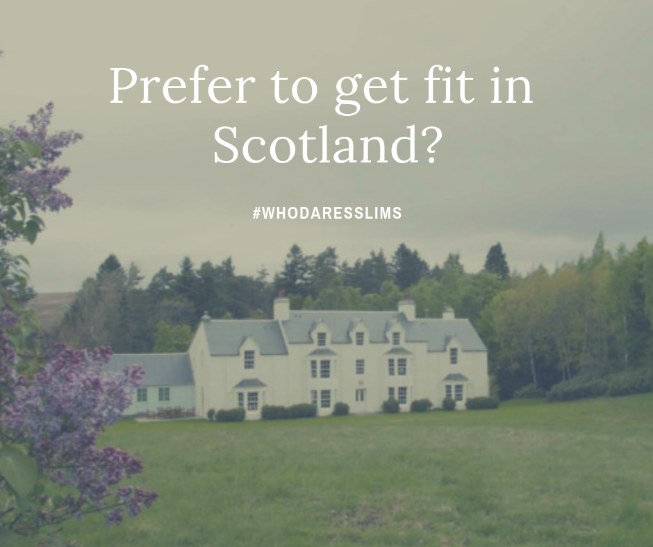 If Spain is too sunny for your tastes - we also have our  boot camp in Scotland 31st August - 7th September 2019.