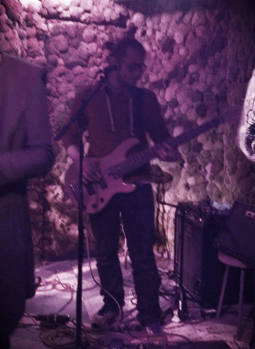 Yannick Bellotto on bass