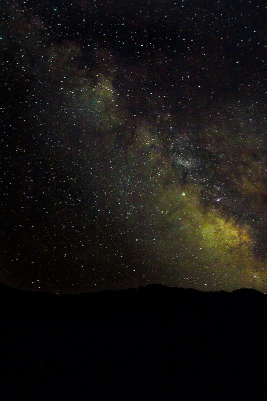 The stars from Shenako in Tusheti