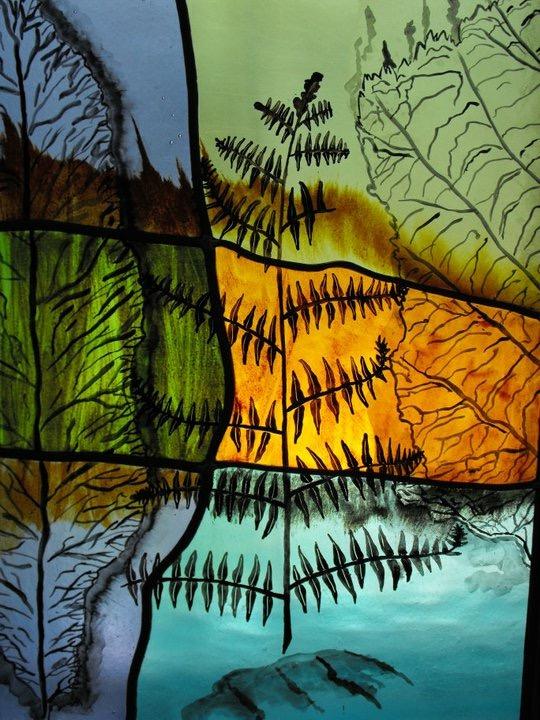 Autumn Leaf Panel