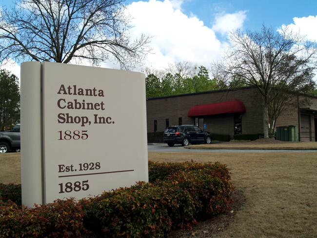 Shop Tour - Atlanta Cabinet Shop utilizes state-of-the-art machinery, first-class material handling equipment and an optimized shop layout. Our commitment to technology and LEAN manufacturing processes make us the premier custom cabinet component manufacturer for Georgia and the country.Take an online shop tour through the photo gallery. Next time you're in the Atlanta area, please visit our facility in Buford, Georgia.