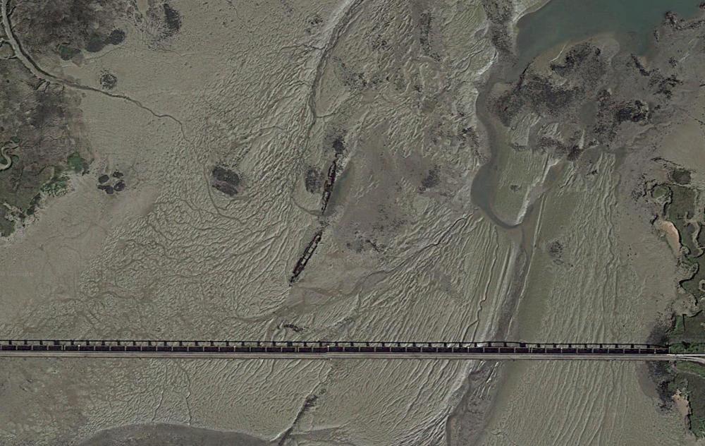 Satellite Image courtesy of Google.