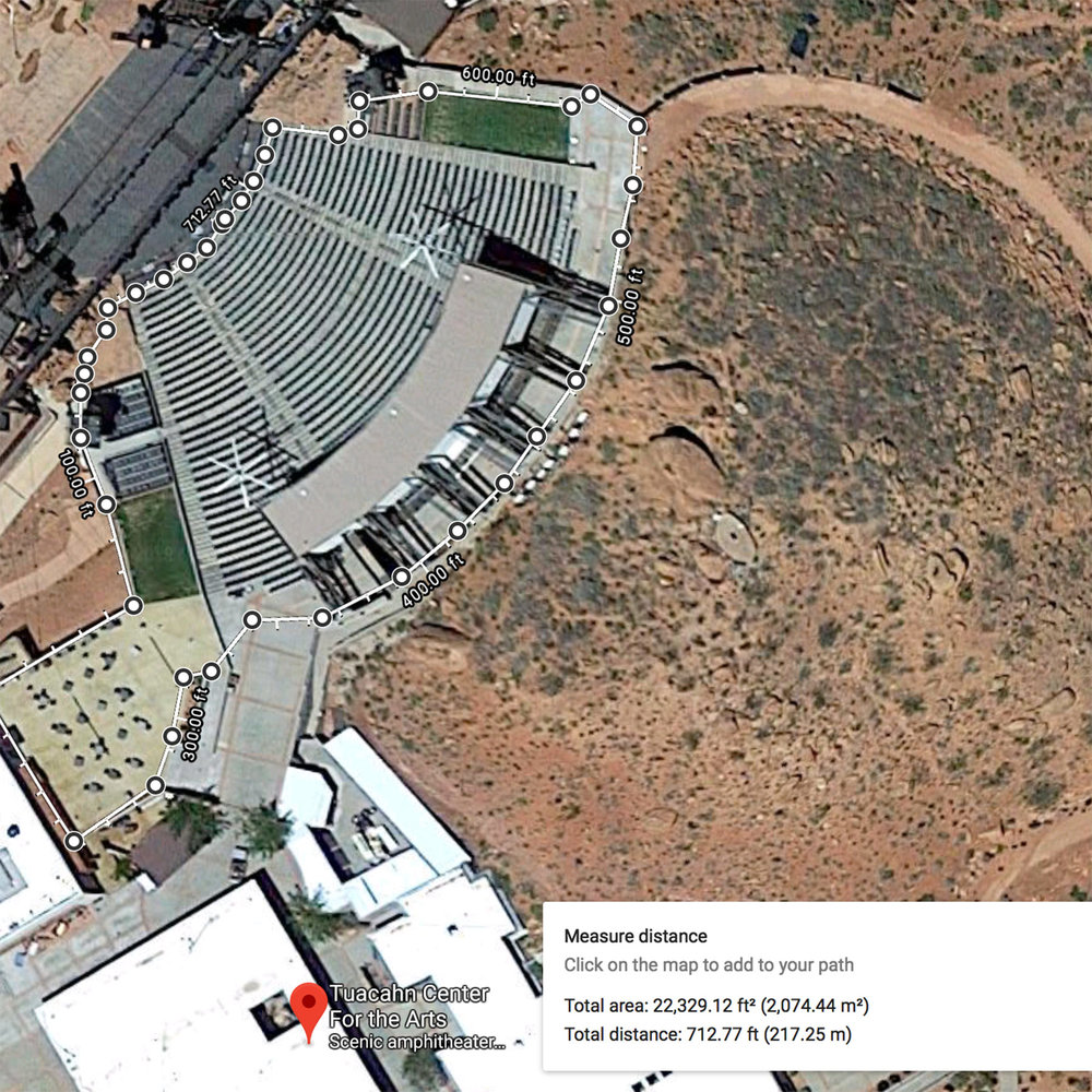 St. George (Tuacahn) Patron Area, 22,4000 Sq. Ft. [Rev-B, 2018 January 29]