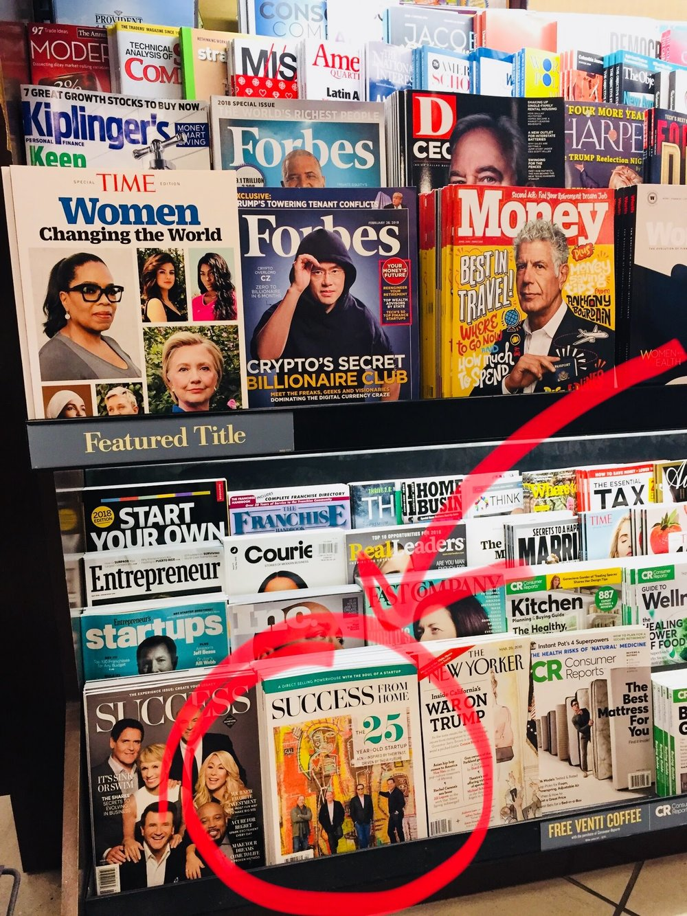 CHECK OUT MY COVER STORY ON THE FRONT ROW OF NEWSSTANDS!