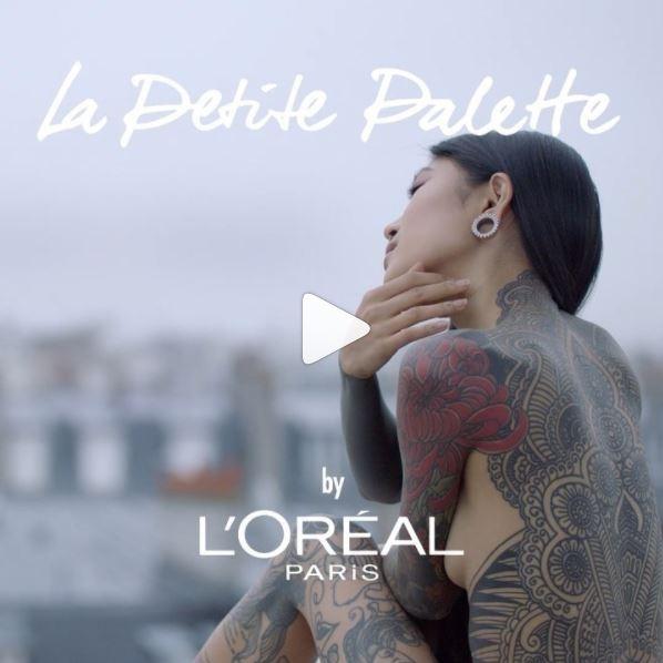 L'Oréal paris 'le petite palette' - Matthew Swinnerton (Citizens) 'True Romance'