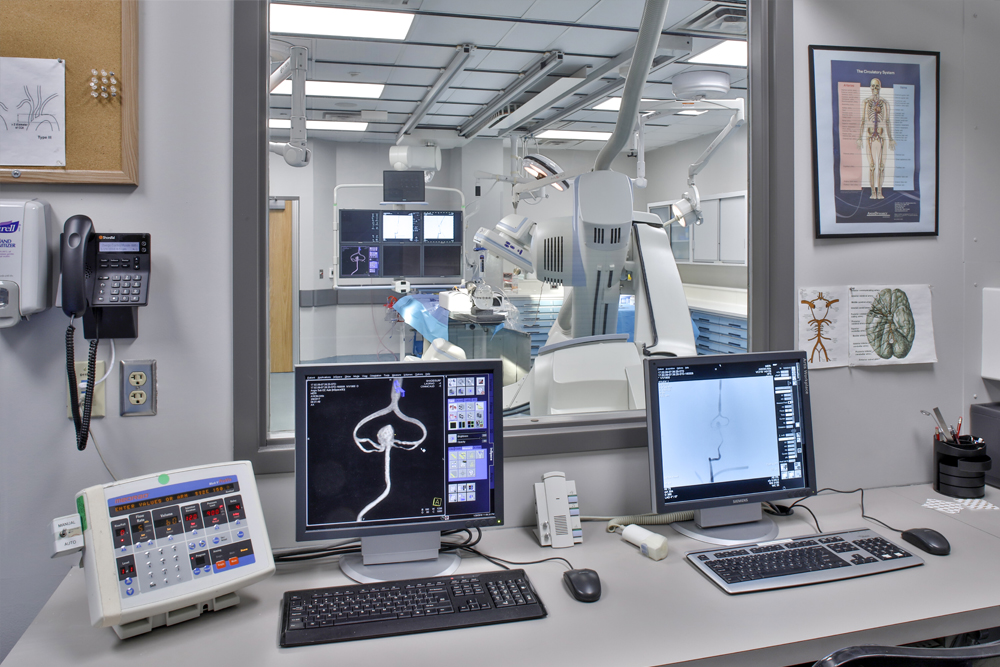 Angiography Suite Control Room