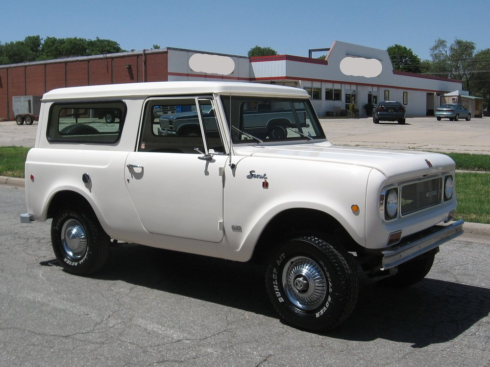 1969 International Scout II