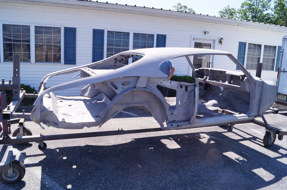 Are all portions of the build performed in-house? - 95% of most restorations are performed right at Coastal Classics by our talented craftsmen. However, due to both environmental regulations and space requirements, its simply not feasible to perform such services as chrome plating or large-scale media blasting in-house. Rest assured though, alll of the work performed by these specialists adhere to Coastal Classics' strict guidelines for quality and are covered by our own 1-year warranty.