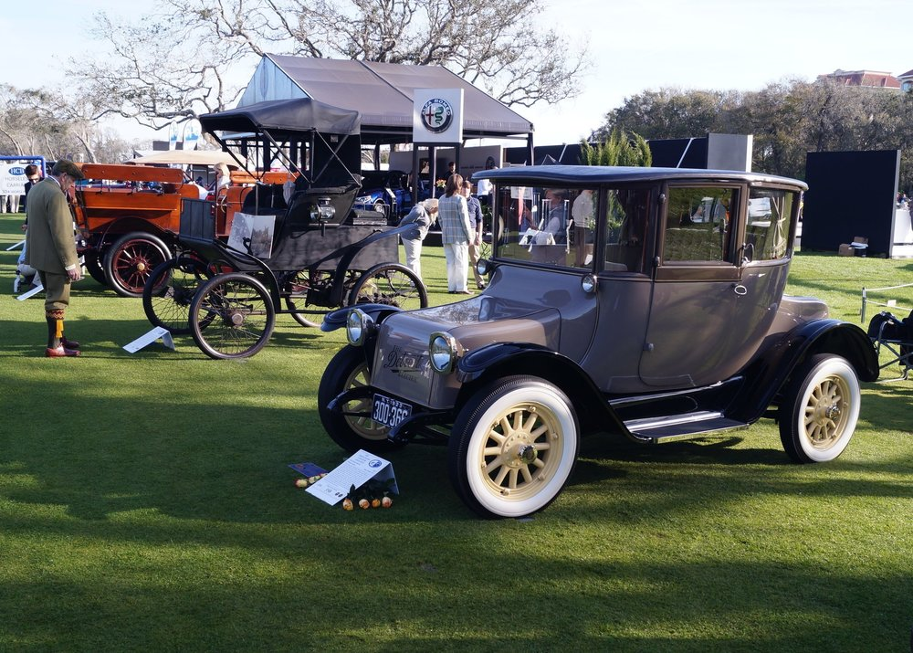 Amelia Island Concours d'Elegance 2018 - Horseless Carriage Electric Class Participant