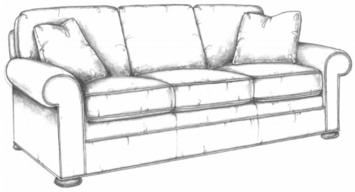 Crab Key sofa