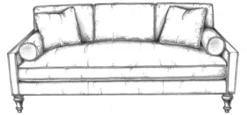Saint Esprit sofa