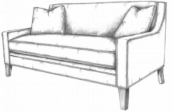Fountainebleau sofa
