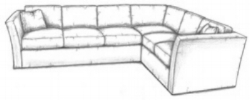 Tangier sectional