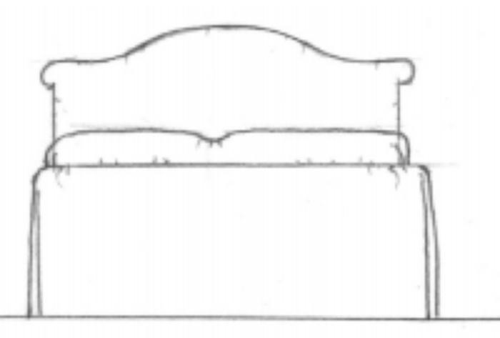 Palmetto headboard