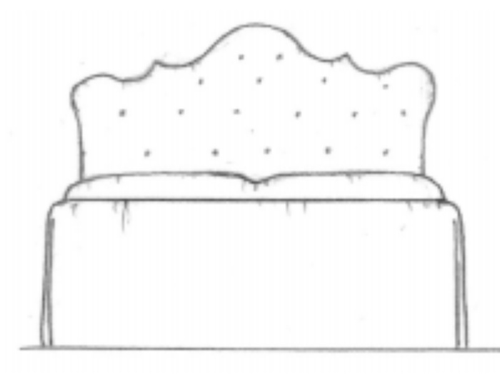 Lime Berry headboard