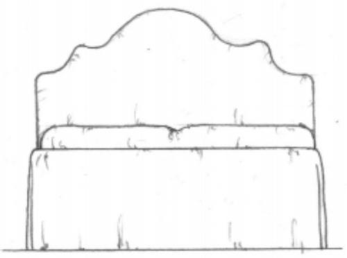 Verbena headboard