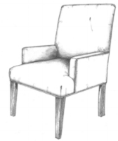 Tobago dining room chairs