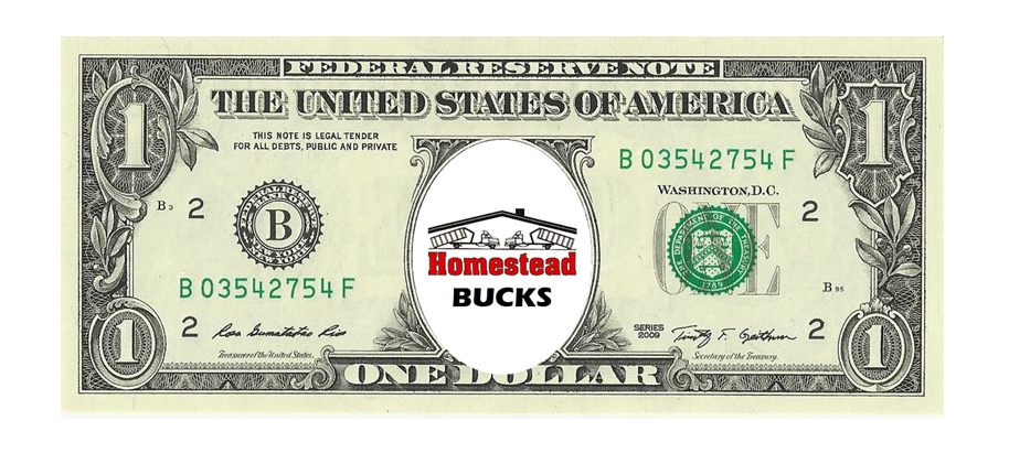 Refer A Friend - to earn Homestead Bucks for use on your next dumpster rental. Learn more >>