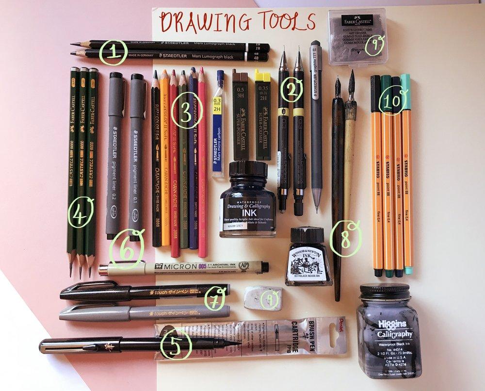 tools i use by samantha dolan part1.JPG