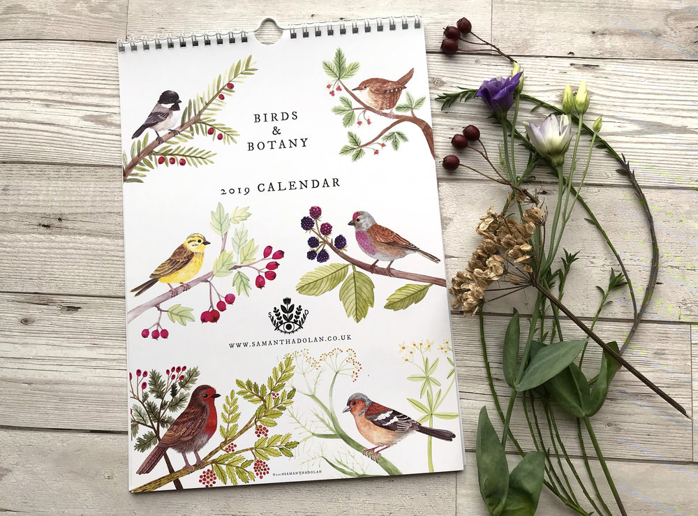 Birds and Botany 2019 Calendar