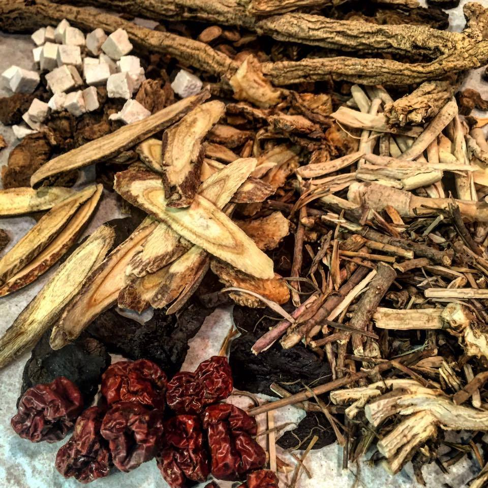 Raw Chinese Herbs