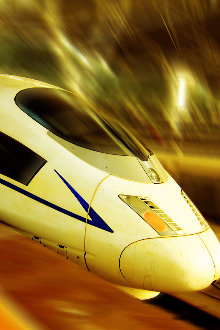 and high-speed trains!