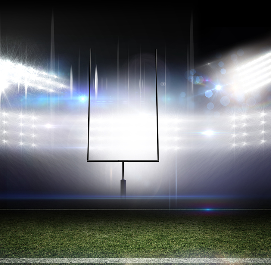 Score big by designing stadium lighting!