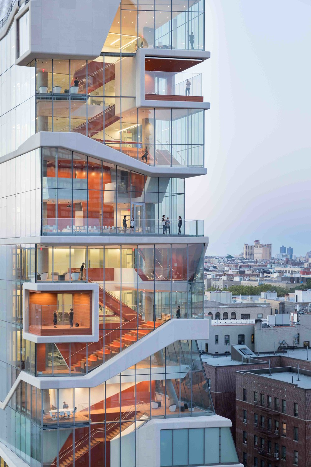 Structural engineers are key contributors to cutting-edge buildings like the Vagelos Education Center in NYC.