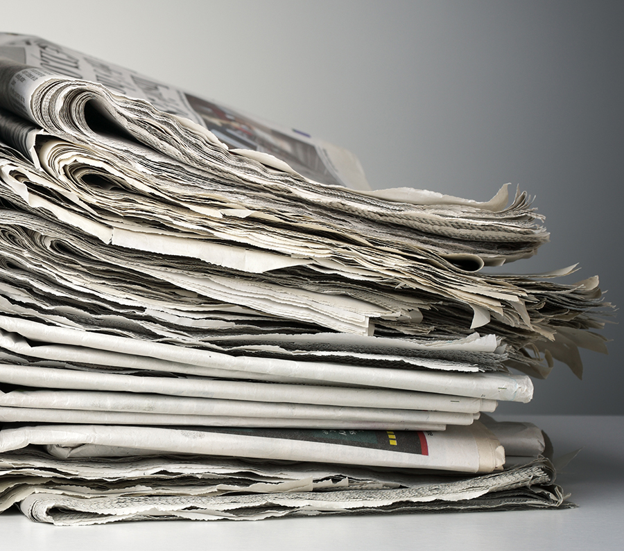 Recycle your newspapersto make new paper? - (Environmental engineer)