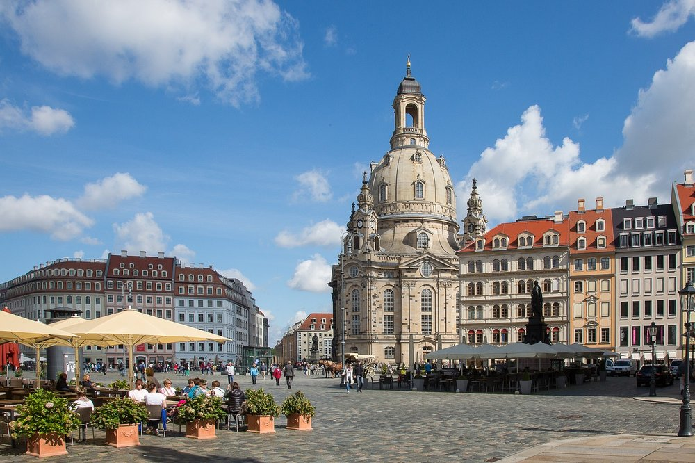 SIGHTSEEING IN Dresden -