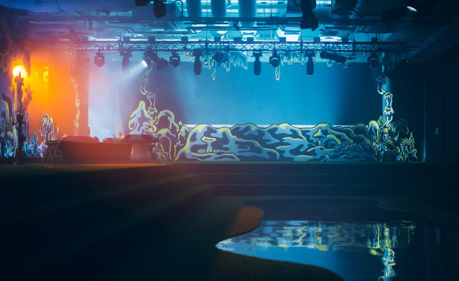 Absolut Art Bar in Stockholm by Swedish DJ duo Studio Barnhus, also the stage for 2017's Absolut Art Award celebration.