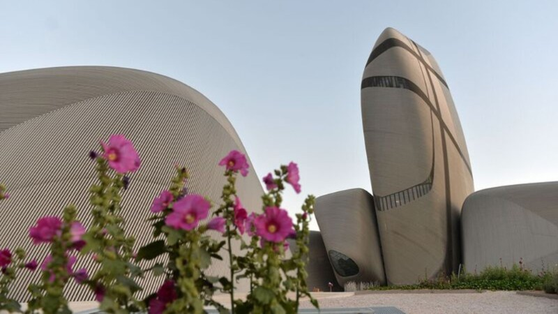 King Abdulaziz Center for World Culture is designed by   Snøhetta  . Courtesy Saudi Aramco.