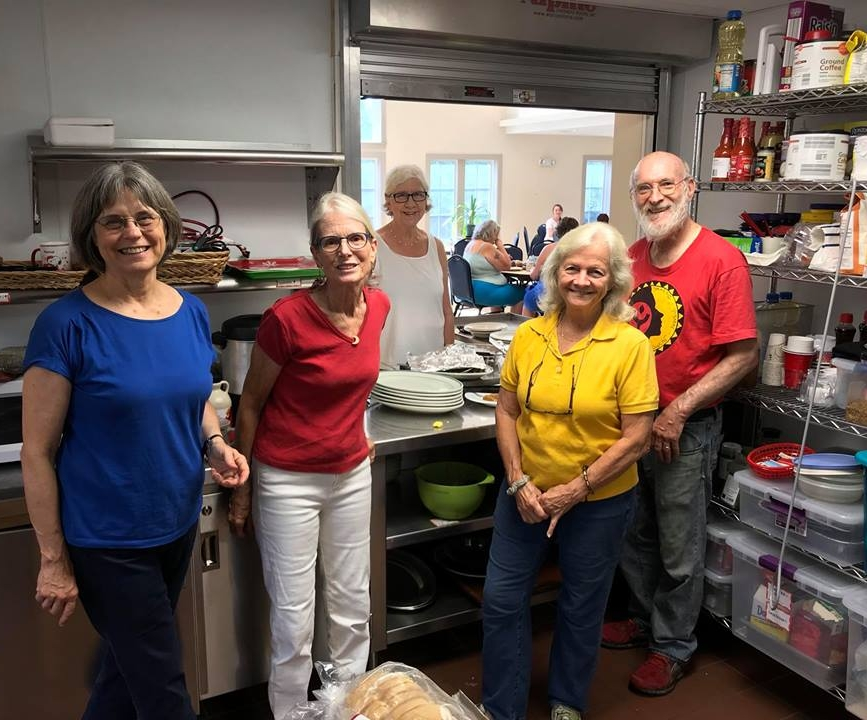 In partnership with the  Unitarian Universalist Society of Amherst (UUSA) , we offer a community breakfast every Wednesday! The breakfast is free, open to the public, and is cooked and served by dedicated volunteers. Various agency partners are present to assist with needs such as case management, applying for MassHealth, Veterans services, youth services, and more. Join on Wednesdays at   121 N Pleasant St, Amherst, MA 01002.