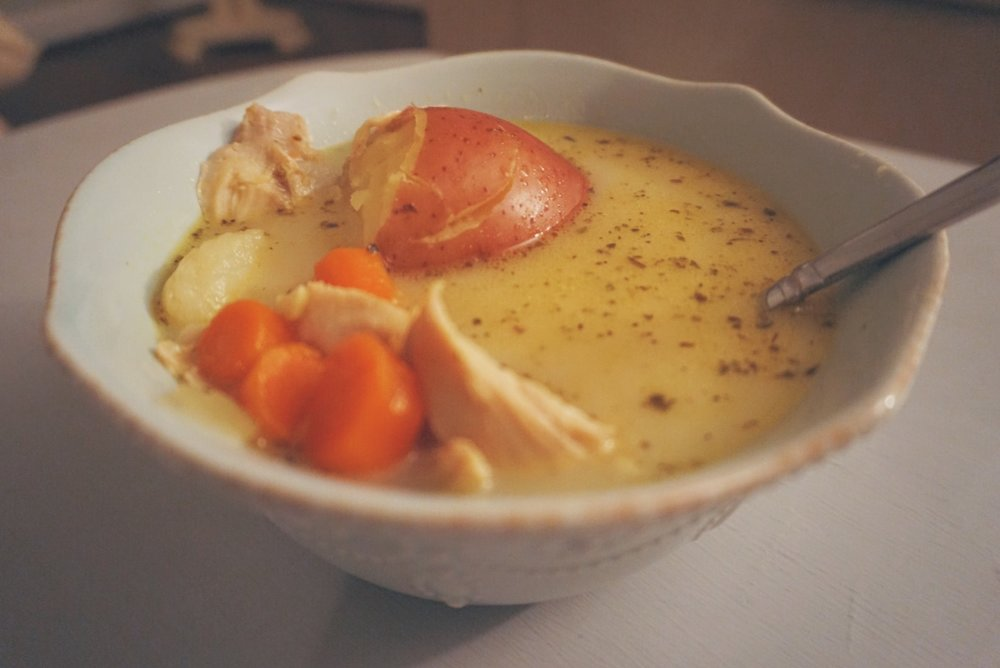 Creamy Chicken Soup | Paleo & Whole 30