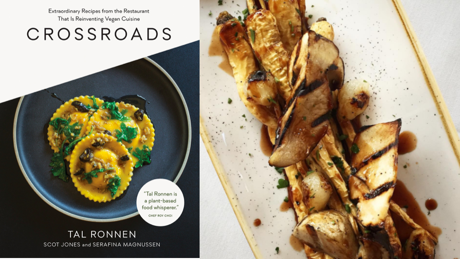 Crossroads  (left);  @crossroadskitchen  (right)