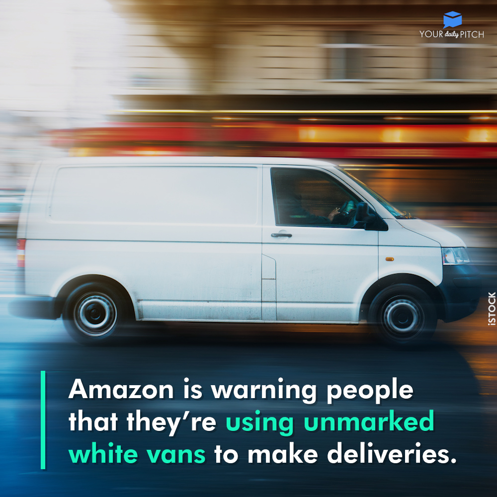 using unmarked white vans