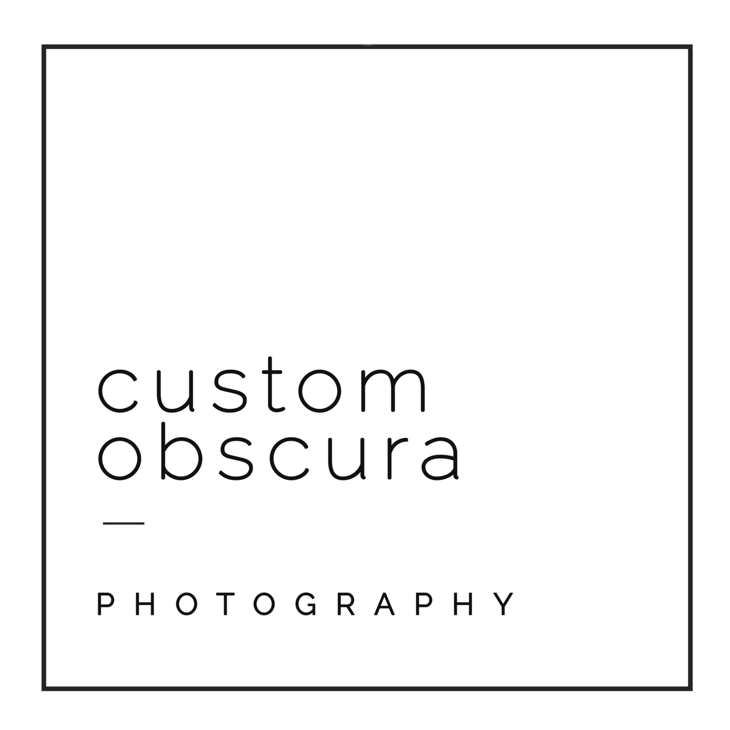 Custom Obscura Photography