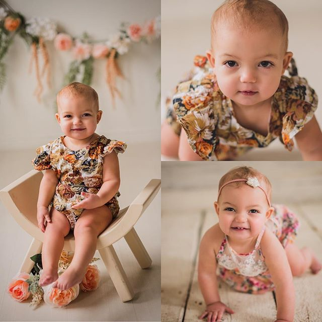 This face though... 💛#melting #oneyearsession #milestonesession #minneapolisphotographer #mnphotographer #sweetpea