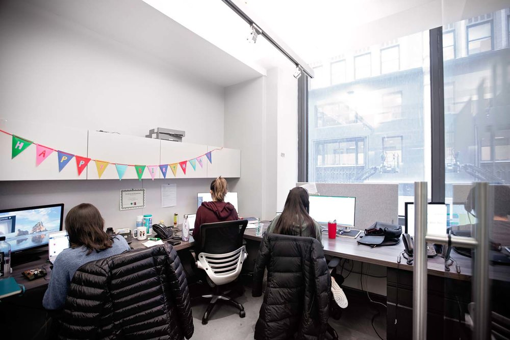 Team Office Furnished for 11